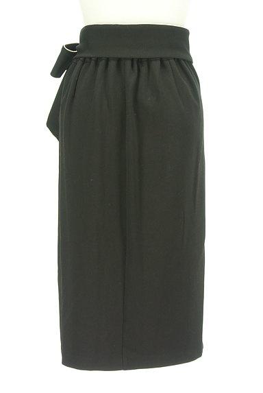 ROYAL PARTY(ロイヤルパーティ)の古着「ウエストリボンパイピングタイトスカート(スカート)」大画像2へ