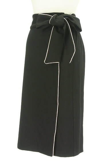 ROYAL PARTY(ロイヤルパーティ)の古着「ウエストリボンパイピングタイトスカート(スカート)」大画像3へ