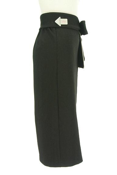 ROYAL PARTY(ロイヤルパーティ)の古着「ウエストリボンパイピングタイトスカート(スカート)」大画像4へ