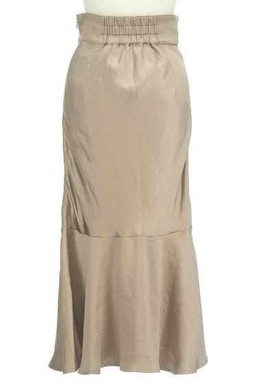 ROYAL PARTY(ロイヤルパーティ)の古着「切替フレアサテンロングスカート(ロングスカート・マキシスカート)」大画像2へ