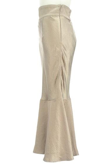 ROYAL PARTY(ロイヤルパーティ)の古着「切替フレアサテンロングスカート(ロングスカート・マキシスカート)」大画像3へ