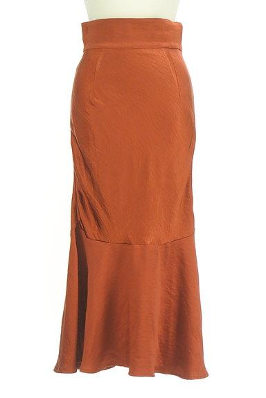 ROYAL PARTY(ロイヤルパーティ)の古着「切替フレアサテンロングスカート(ロングスカート・マキシスカート)」大画像1へ
