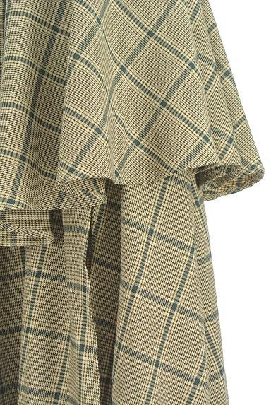 ROYAL PARTY(ロイヤルパーティ)の古着「ボリュームフリルチェック柄スカート(ロングスカート・マキシスカート)」大画像4へ