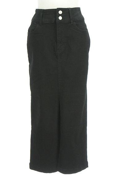ROYAL PARTY(ロイヤルパーティ)の古着「前スリットタイトロングスカート(ロングスカート・マキシスカート)」大画像1へ