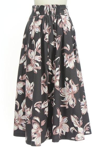 ROYAL PARTY(ロイヤルパーティ)の古着「花柄フレアロングスカート(ロングスカート・マキシスカート)」大画像2へ