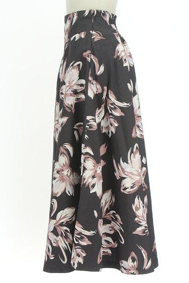 ROYAL PARTY(ロイヤルパーティ)の古着「花柄フレアロングスカート(ロングスカート・マキシスカート)」大画像3へ