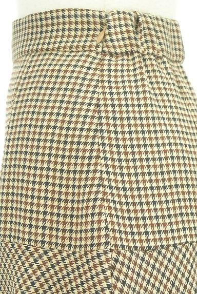 ROYAL PARTY(ロイヤルパーティ)の古着「イレギュラーヘムチェック柄スカート(ロングスカート・マキシスカート)」大画像4へ