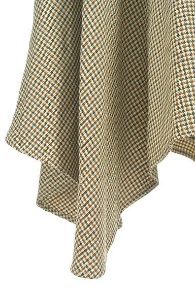 ROYAL PARTY(ロイヤルパーティ)の古着「イレギュラーヘムチェック柄スカート(ロングスカート・マキシスカート)」大画像5へ