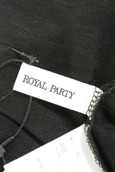 ROYAL PARTY(ロイヤルパーティ)の古着「シースルーハイネックカットソー(カットソー・プルオーバー)」大画像6へ