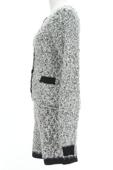 ROYAL PARTY(ロイヤルパーティ)の古着「シャギーニットジャケット+パンツセット(セットアップ(ジャケット+スカート))」大画像3へ