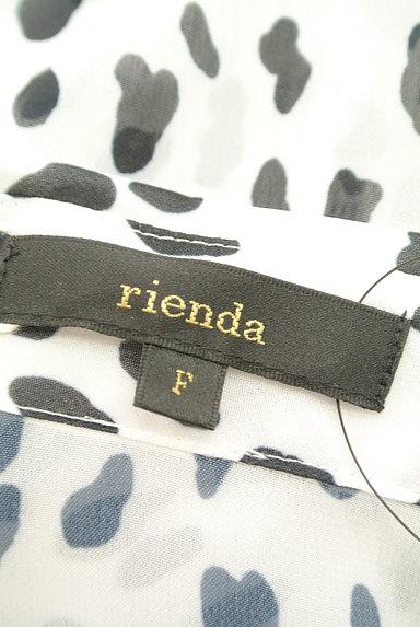 rienda(リエンダ)の古着「ダルメシアン柄シアーブラウス(ブラウス)」大画像6へ