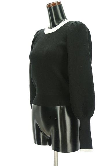 ROYAL PARTY(ロイヤルパーティ)の古着「バイカラーボリューム袖ニット(ニット)」大画像3へ