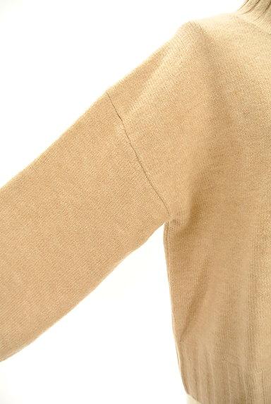 ROYAL PARTY(ロイヤルパーティ)の古着「ボリューム袖ウエストリボンニット(ニット)」大画像5へ