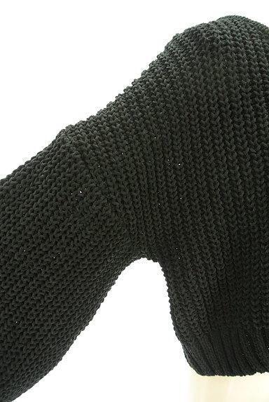 ROYAL PARTY(ロイヤルパーティ)の古着「ボリューム袖ショート丈ニット(ニット)」大画像4へ