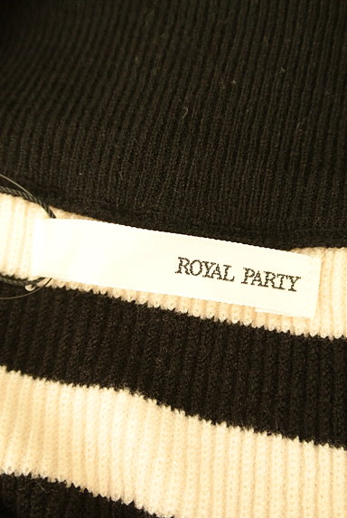 ROYAL PARTY(ロイヤルパーティ)の古着「ボートネックボリューム袖ニット(ニット)」大画像6へ