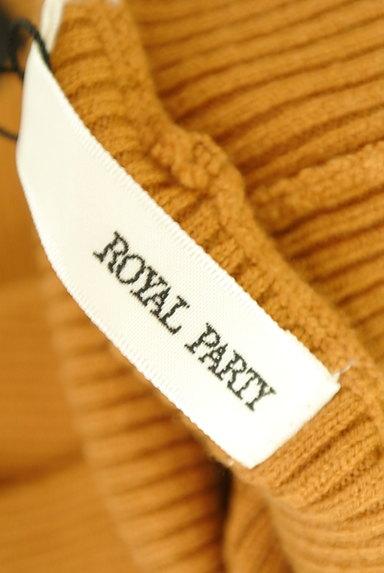 ROYAL PARTY(ロイヤルパーティ)の古着「袖口ボタンタートルリブニット(ニット)」大画像6へ
