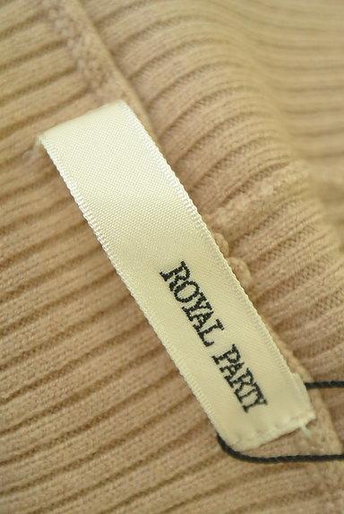 ROYAL PARTY(ロイヤルパーティ)の古着「袖口ボタンリブタートルニット(ニット)」大画像6へ