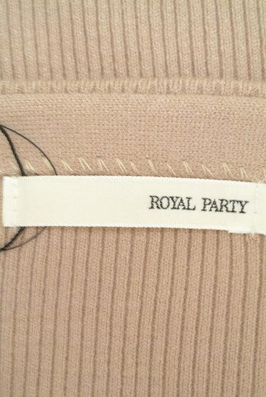ROYAL PARTY(ロイヤルパーティ)の古着「パワーショルダーリブニット(ニット)」大画像6へ