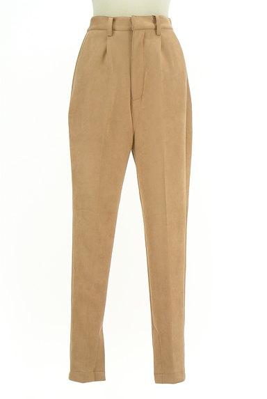 ROYAL PARTY(ロイヤルパーティ)の古着「裾ベントスウェードテーパードパンツ(パンツ)」大画像1へ