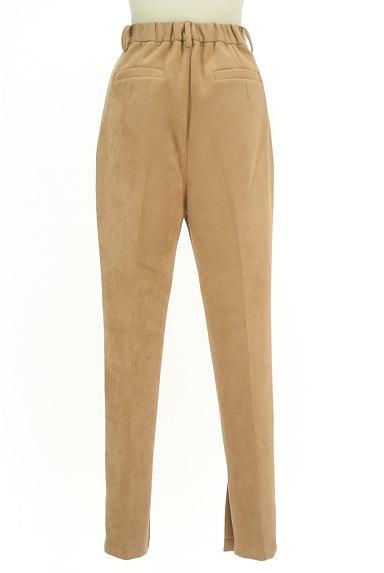 ROYAL PARTY(ロイヤルパーティ)の古着「裾ベントスウェードテーパードパンツ(パンツ)」大画像2へ