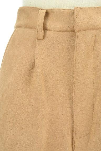 ROYAL PARTY(ロイヤルパーティ)の古着「裾ベントスウェードテーパードパンツ(パンツ)」大画像4へ