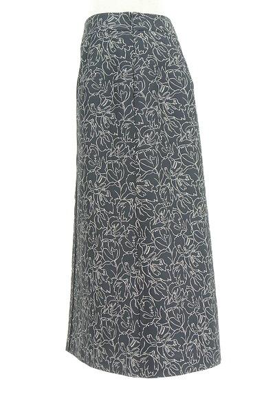 ketty(ケティ)の古着「膝下丈花柄刺繍フレアスカート(ロングスカート・マキシスカート)」大画像3へ