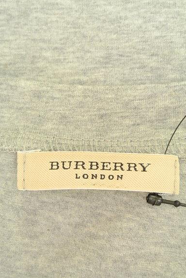 BURBERRY(バーバリー)の古着「チェック柄切替カットソー(カットソー・プルオーバー)」大画像6へ