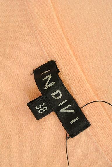 INDIVI(インディヴィ)の古着「シンプルラウンドネックニット(ニット)」大画像6へ