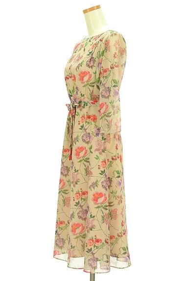 Sybilla(シビラ)の古着「花柄シフォンロングワンピース(ワンピース・チュニック)」大画像3へ