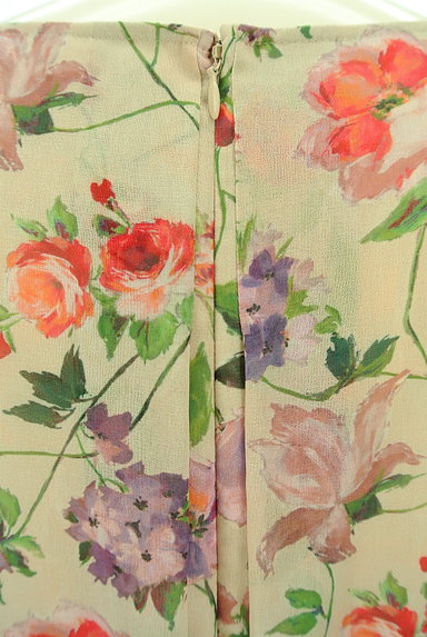 Sybilla(シビラ)の古着「花柄シフォンロングワンピース(ワンピース・チュニック)」大画像4へ