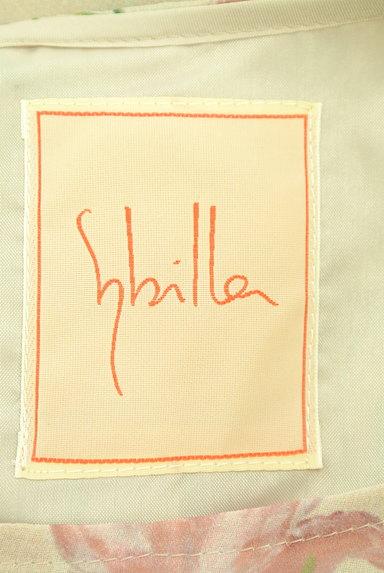 Sybilla(シビラ)の古着「花柄シフォンロングワンピース(ワンピース・チュニック)」大画像6へ