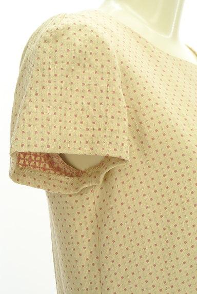 Jocomomola(ホコモモラ)の古着「ピンドット刺繍ミモレワンピース(ワンピース・チュニック)」大画像4へ