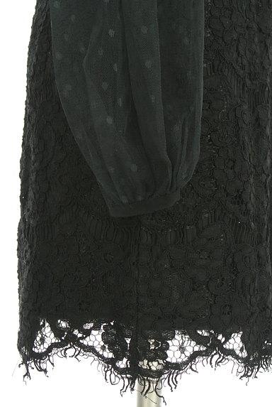 rienda(リエンダ)の古着「チュール切替総レースミニワンピ(ワンピース・チュニック)」大画像5へ
