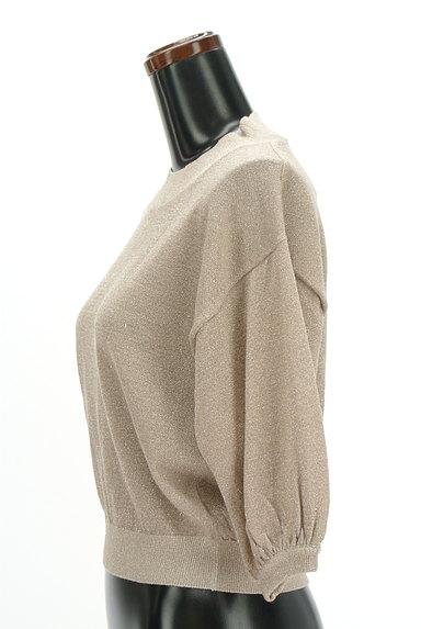 MURUA(ムルーア)の古着「ボトルネック七分袖ラメニット(ニット)」大画像3へ