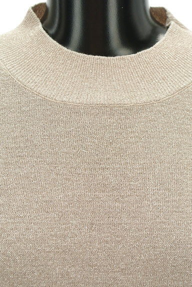 MURUA(ムルーア)の古着「ボトルネック七分袖ラメニット(ニット)」大画像4へ