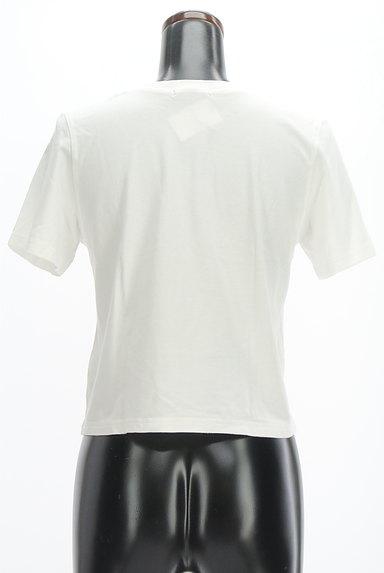 MURUA(ムルーア)の古着「モノトーンロゴTシャツ(Tシャツ)」大画像2へ