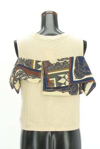 MURUA(ムルーア)の古着「スカーフフリルカットソー(カットソー・プルオーバー)」大画像2へ