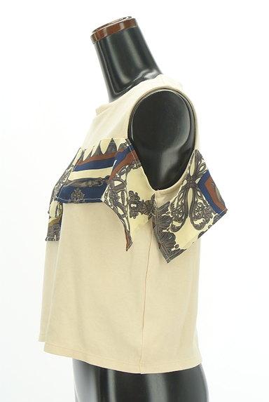MURUA(ムルーア)の古着「スカーフフリルカットソー(カットソー・プルオーバー)」大画像3へ