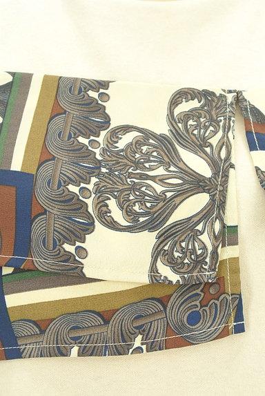 MURUA(ムルーア)の古着「スカーフフリルカットソー(カットソー・プルオーバー)」大画像4へ