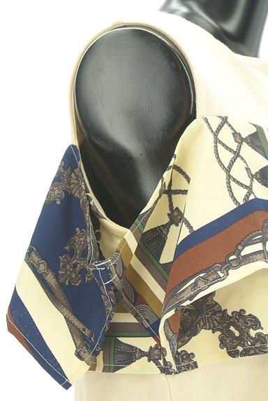 MURUA(ムルーア)の古着「スカーフフリルカットソー(カットソー・プルオーバー)」大画像5へ