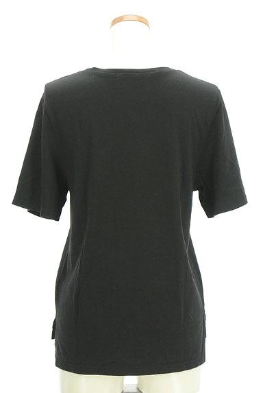 MURUA(ムルーア)の古着「プリントスリットTシャツ(Tシャツ)」大画像2へ