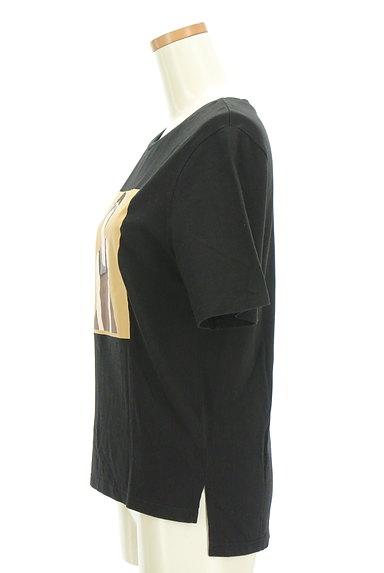 MURUA(ムルーア)の古着「プリントスリットTシャツ(Tシャツ)」大画像3へ
