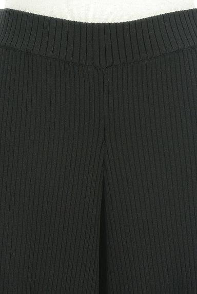 OPAQUE.CLIP(オペークドットクリップ)の古着「リブストレートパンツ(パンツ)」大画像4へ