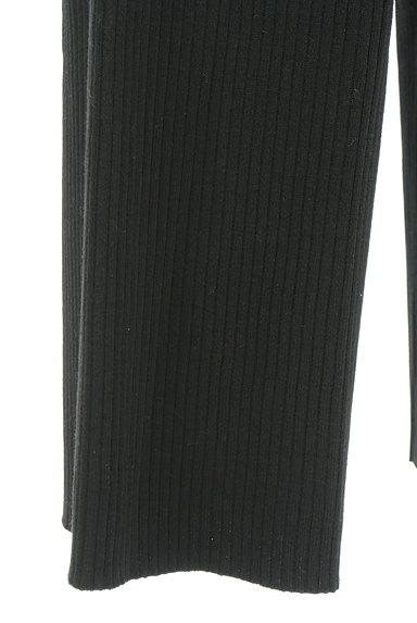 OPAQUE.CLIP(オペークドットクリップ)の古着「リブストレートパンツ(パンツ)」大画像5へ