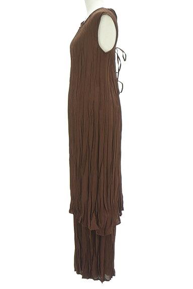 MURUA(ムルーア)の古着「楊柳シフォンロングセットアップ(セットアップ(ジャケット+パンツ))」大画像3へ