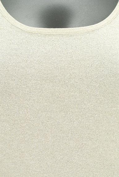 INDIVI(インディヴィ)の古着「ゴールドラメニット(ニット)」大画像5へ