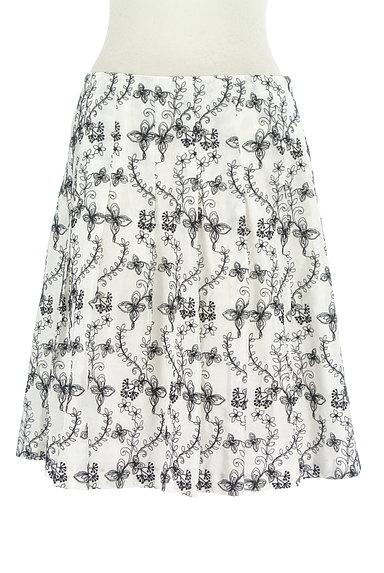 TOCCA(トッカ)の古着「花刺繍フレアスカート(スカート)」大画像1へ