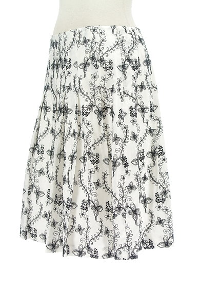 TOCCA(トッカ)の古着「花刺繍フレアスカート(スカート)」大画像3へ