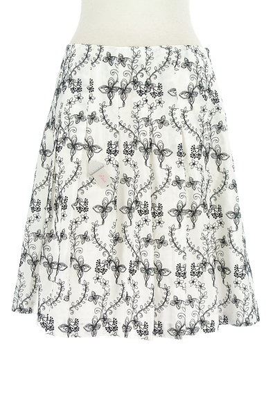 TOCCA(トッカ)の古着「花刺繍フレアスカート(スカート)」大画像4へ