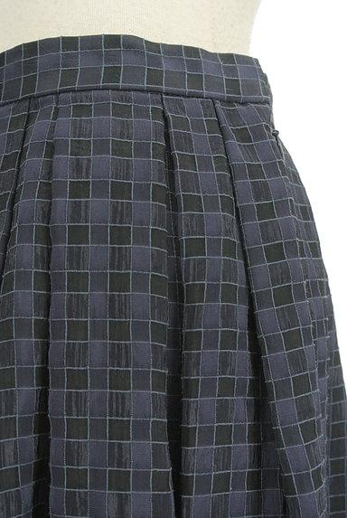 UNITED ARROWS(ユナイテッドアローズ)の古着「チェック柄シフォンフレアスカート(スカート)」大画像4へ